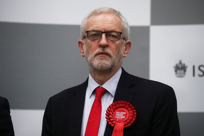 Britain's opposition Labour Party leader Jeremy Corbyn. (AFP Photo)