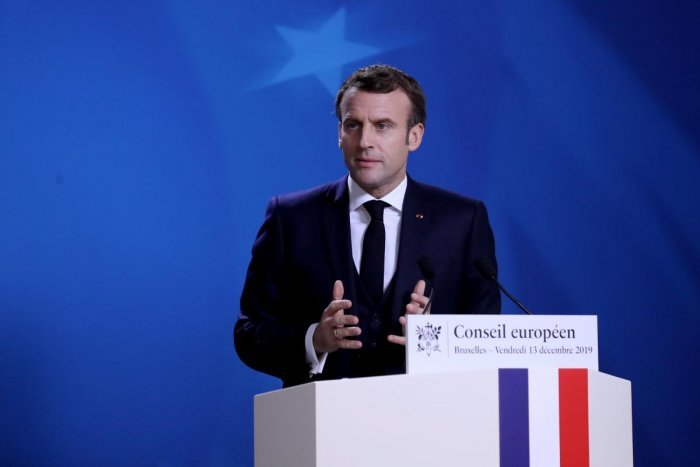 France's President Emmanuel Macron. (AFP file photo)