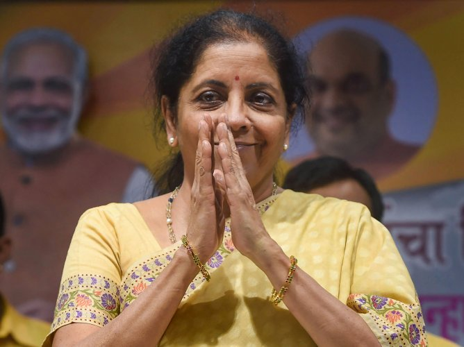 Finance Minister Nirmala Sitharaman. (DH Photo)