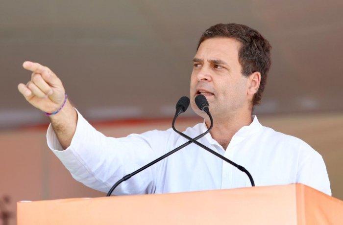 Congress leader Rahul Gandhi. (PTI Photo)