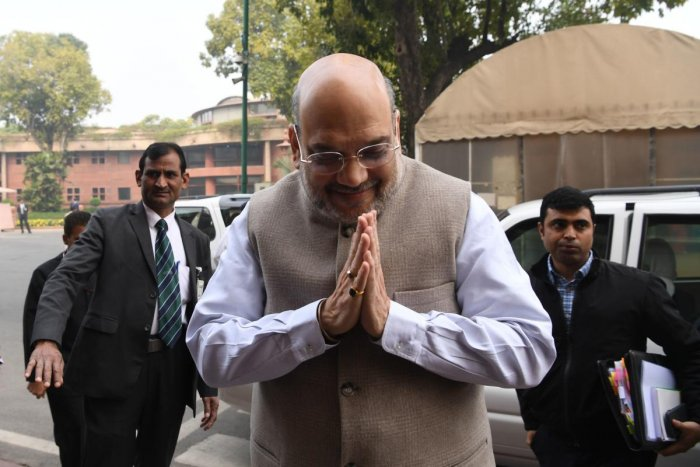 Home Minister Amit Shah. (AFP Photo)