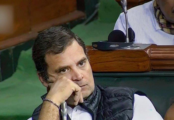 Congress leader Rahul Gandhi(Photo by PTI)