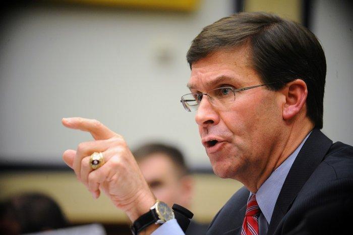 US Defense Secretary Mark Esper. (Reuters Photo)