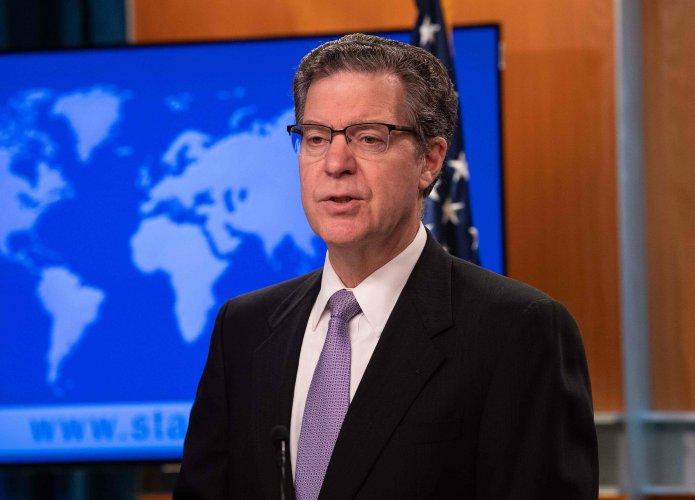US Ambassador-at-Large for International Religious Freedom Sam Brownback. (AFP Photo)