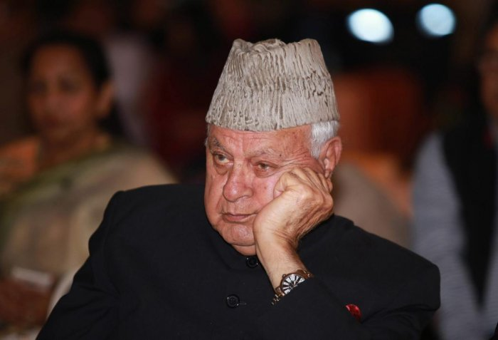Abdullah, a five-time Parliamentarian, has been under detention since August 5 when the Centre abrogated the special status of Jammu and Kashmir and bifurcated the state. Photo/PTI