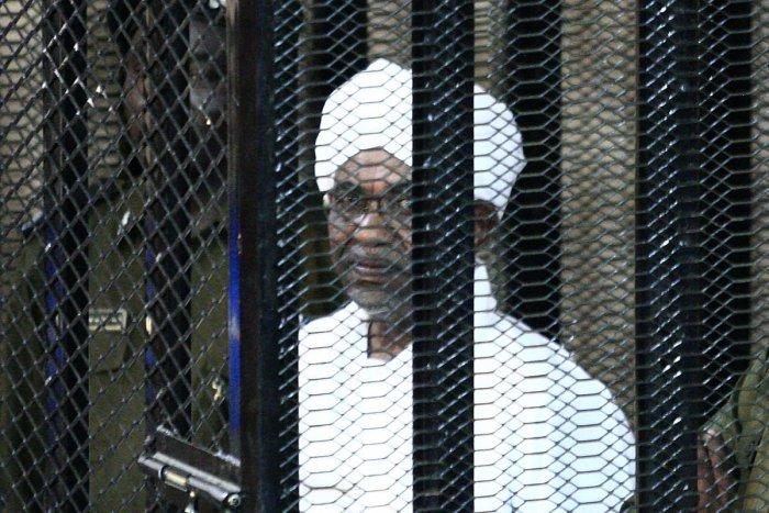 Sudan's ex-president Omar al-Bashir. (AFP photo)
