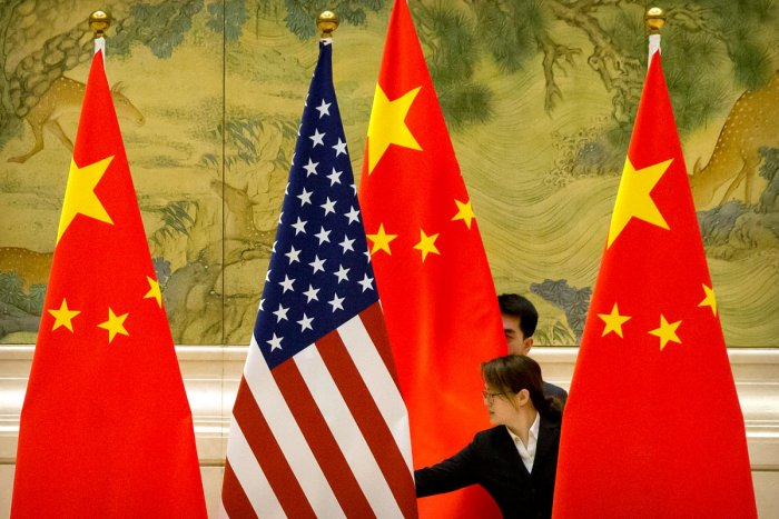 """""""The real purpose of the US is to destabilise and even bring Hong Kong to ruin. China has taken countermeasures against the US actions. The US should immediately stop interfering in Hong Kong affairs, otherwise, it will only shoot itself in the foot,"""" said Chinese ambassador to India Sun Weidong.Photo/Reuters"""