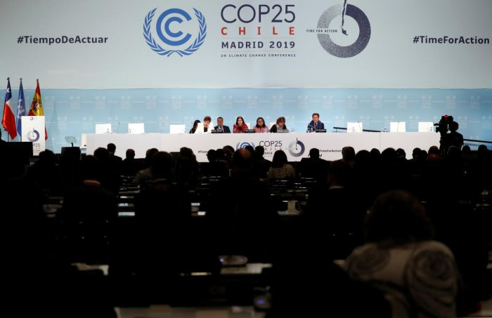 The COP 25 summit also aimed to finalise the rulebook of the landmark 2015 Paris accord, which goes into effect next year. Photo/Reuters