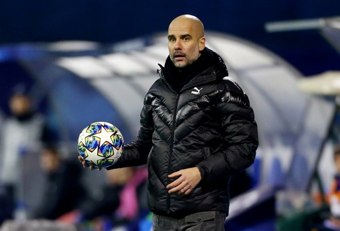 Manchester City manager Pep Guardiola. (Reuters Photo)