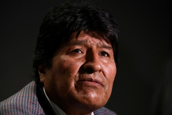 Former Bolivian President Evo Morales. (Reuters file photo)