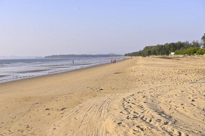 Rabindranath Tagore beach in Karwar.