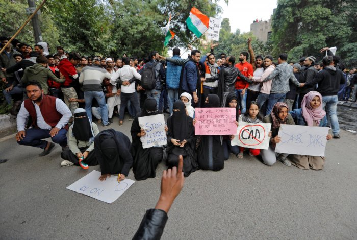 In Aligarh, as clashes were reported after protests, the internet was blocked and the winter vacation of the University that was to commence from next week, was preponed.
