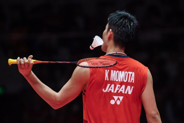 Kento Momota of Japan. (AFP Photo)
