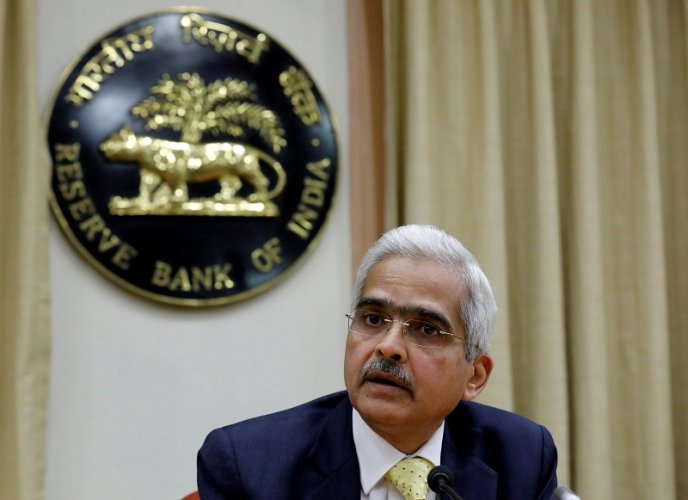 Shaktikanta Das, the new Reserve Bank of India (RBI) Governor, attends a news conference in Mumbai. (Reuters Photo)
