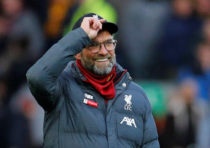 Liverpool manager Juergen Klopp. (Reuters Photo)