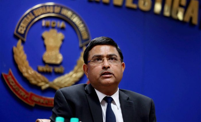 Asthana and the two others were booked on the allegations of criminal conspiracy, corruption and criminal misconduct under relevant sections of the Prevention of Corruption Act. Photo/PTI