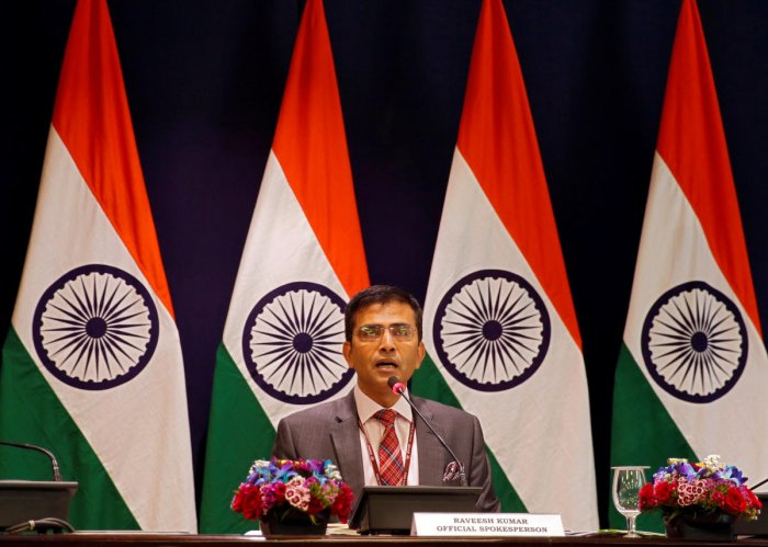 """""""We are concerned by the kidnapping of 20 Indian crew members (as reported by the shipping agency) from the vessel MT Duke in the high seas off the western coast of Africa,"""" Raveesh Kumar, spokesperson of the Ministry of External Affairs, said in New Delhi."""