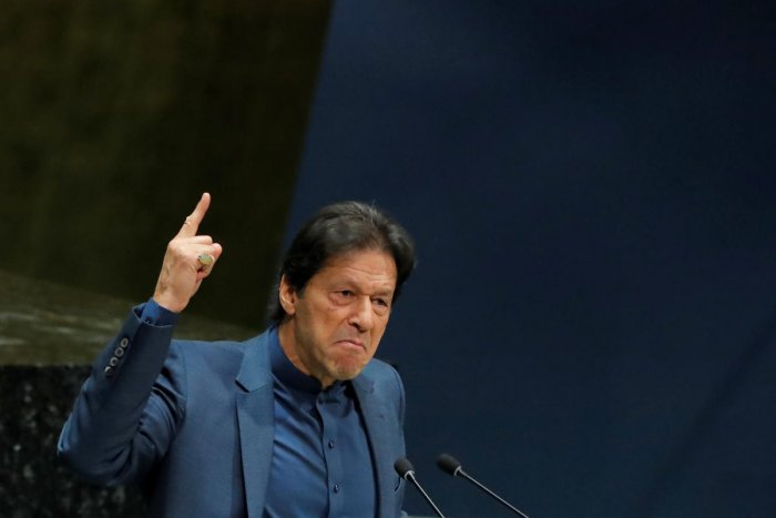 Prime Minister Imran Khan in his message affirmed that the militant mindset would not be allowed to take over the country. Photo/REUTERS