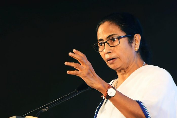 WB CM Mamata Banerjee urged people to work together to make India a better place for women by saying no to violence against the fairer sex. Photo/AFP
