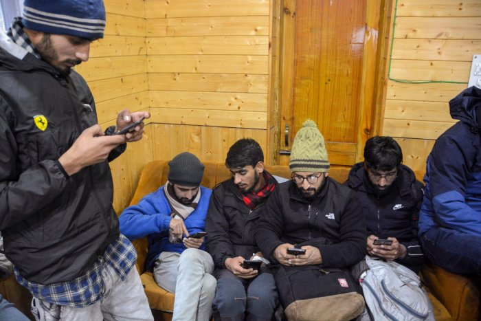 Internet services across all platforms continue to remain suspended in the Kashmir valley since August 5. (PTI Photo)