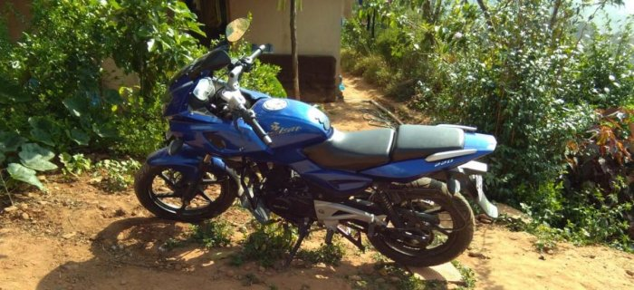 The bike that was parked in front of a house at Indira Nagara, Madikeri, was stolen on November 30.