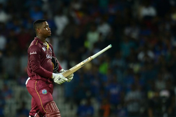 His career-best knock also came just before the IPL auction on Dec 19 but Hetmyer said he was not thinking much about the upcoming T20 league at the moment. Photo/AFP