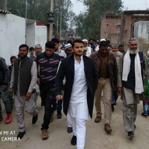 In his election petition against Abdullah Khan, Kazim Khan had contended that the elected MLA's actual date of birth was January 1, 1993, and not September 30, 1990, as claimed in the nomination paper. Photo (Twitter/@@AbdullahAzamMLA)