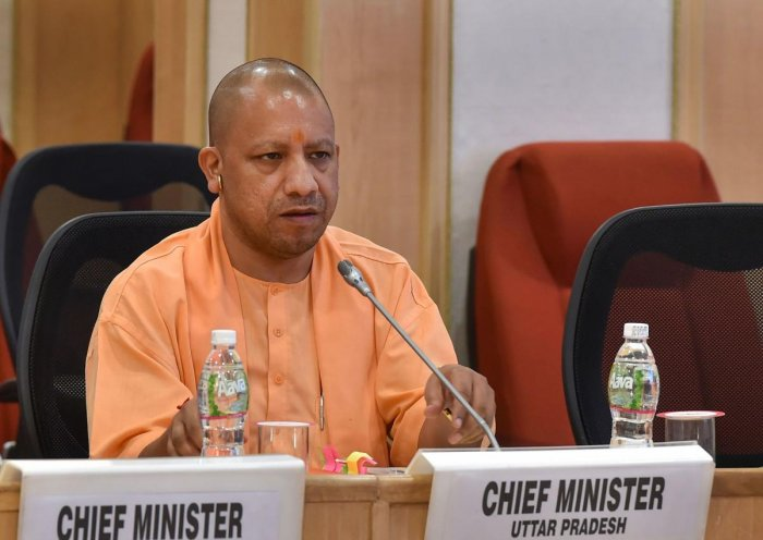 """In a statement past Sunday midnight, Adityanath said, """"People should not pay any attention to the rumours about Citizenship (Amendment) Act being spread by some vested interests."""" Photo/PTI"""