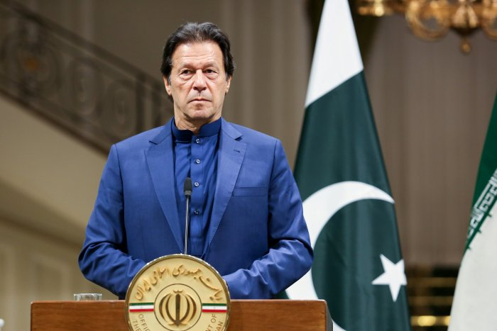 Pakistani Prime Minister Imran Khan. (Reuters Photo)