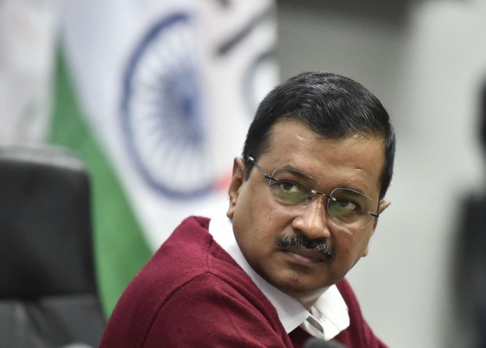 """""""I am very worried about the deteriorating law and order in Delhi. Peace should be restored immediately in Delhi - for this, I have asked Home Minister Amit Shah for an appointment,"""" Kejriwal said. Photo/PTI"""