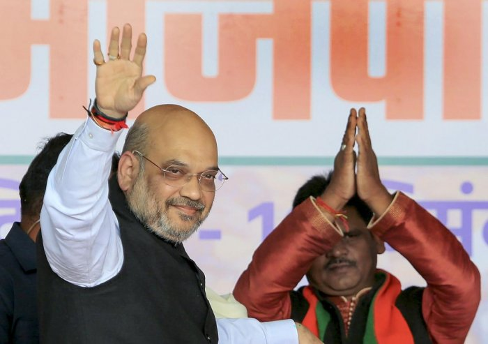 Union Home Affairs Minister and BJP National President Amit Shah. (PTI photo)