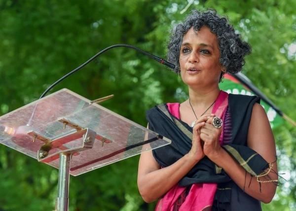 Author Arundhati Roy. (PTI photo)