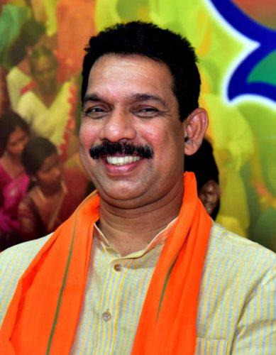 State BJP President Nalin Kumar Kateel. (PTI photo)