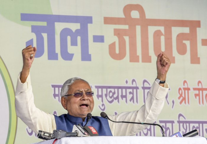 Bihar Chief Minister Nitish Kumar. (PTI Photo)