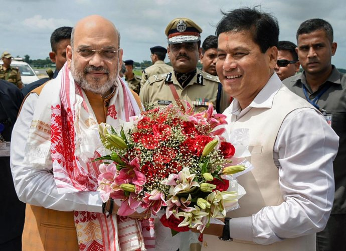 Sonowal alleged that misinformation like more than one crore people will enter Assam under the Act are being spread to create confusion among the people.