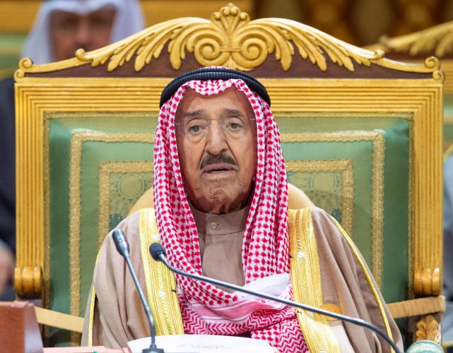 Kuwait formed a new government on Tuesday, a month after the previous one resigned due to a row between ruling family members and parliament.