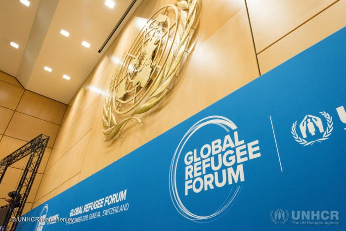 The Global Refugee Forum, which officially opens on Tuesday, is the first follow-up meeting after countries last December adopted the so-called Global Compact on Refugees. Photo (Twitter/ @Refugees)