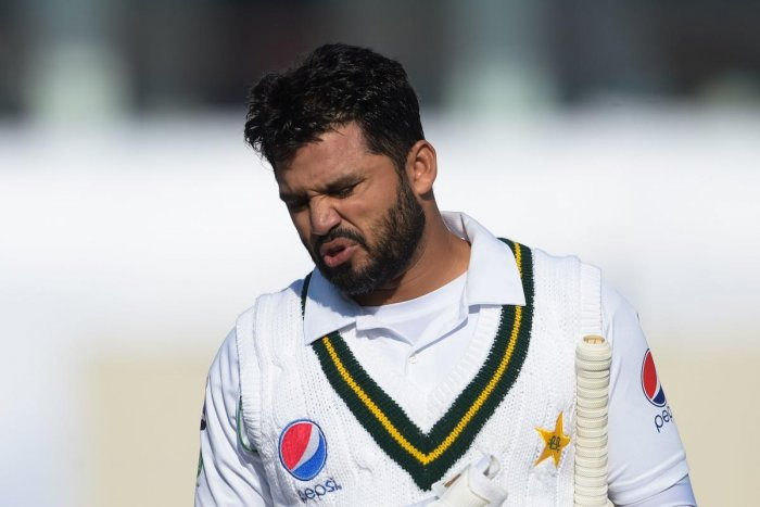 Pakistan's Azhar Ali. (AFP Photo)