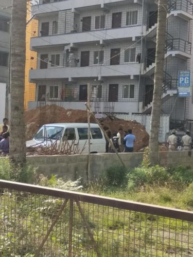 The encroached property recovered by the BDA at Nagavara. Special arrangement