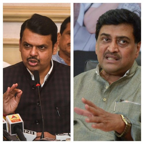 """After the House assembled for the day, senior Congress leader and former Chief Minister Ashok Chavan dubbed the new citizenship law as """"unconstitutional"""" and said it should not be implemented in the state. Photo/PTI"""