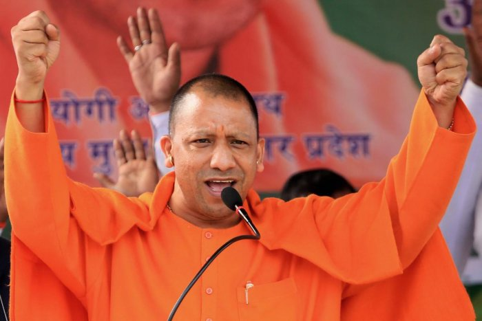 Uttar Pradesh Chief Minister Yogi Adityanath. (PTI Photo)