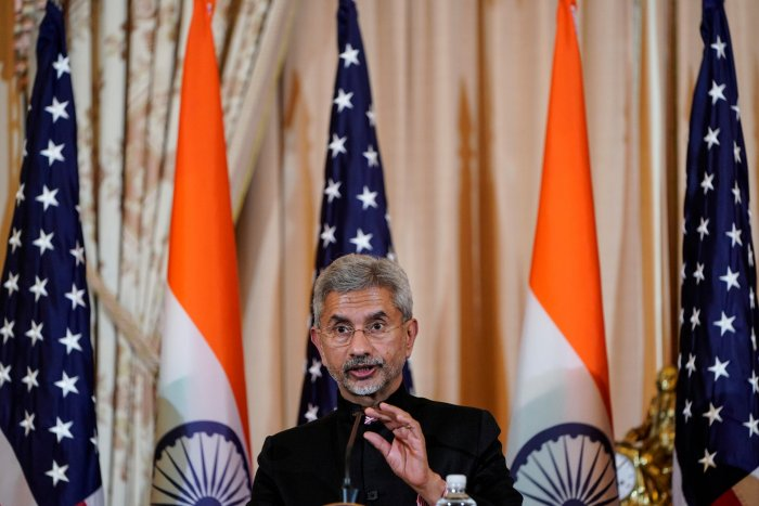 Indian Minister of External Affairs Subrahmanyam Jaishankar speaks to the media after the 2019 U.S.-India 2+2 Ministerial Dialogue at the State Department in Washington, U.S., December 18, 2019. (Reuters Photo)