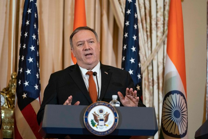 Secretary of State, United States Mike Pompeo. (AFP Photo)