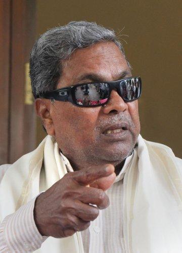 Former Karnataka chief minister Siddaramaiah. (PTI Photo)