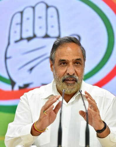 Senior Congress leader Anand Sharma. (PTI Photo)