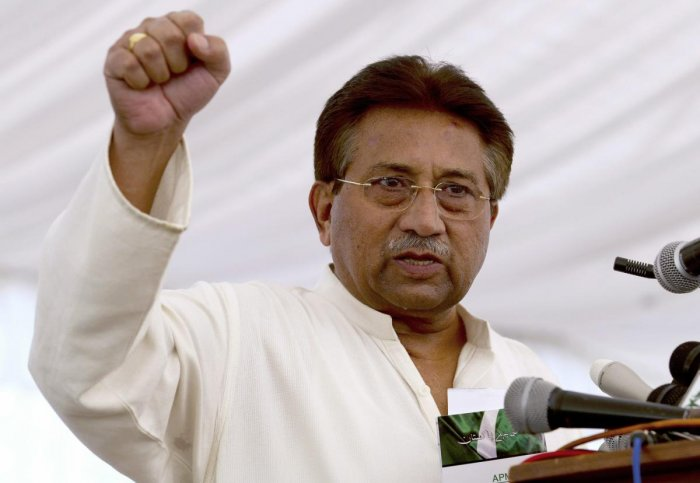Musharraf was sentenced to death in a case of high treason on Tuesday. AP/PTI file photo