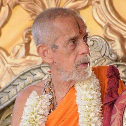 Pejawar Mutt seer Vishveshwa Teertha Swami. (Photo: Facebook)