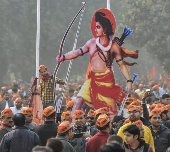 The government is working on setting up a trust within the next few week as mandated by the Supreme Court while delivering the Ayodhya verdict, officials said on Friday.