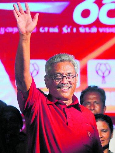 Sri Lankan President- Gotabaya Rajapaksa.