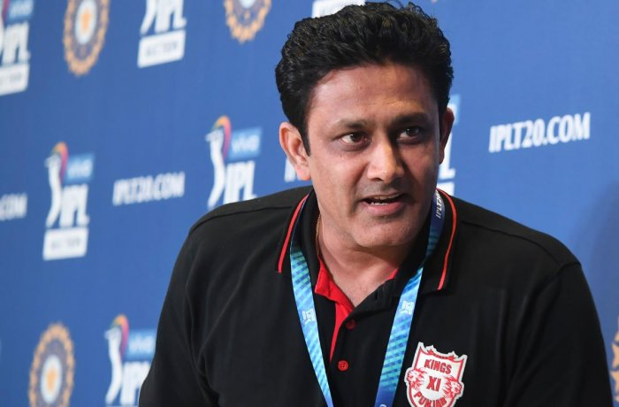 """""""For us, the gaps that we had to fill were pretty evident. We had to fill the fast bowlers slots and also the powerhitters because for us, in the middle order we needed someone who could really be a destructive player and that's why we chose Glenn Maxwell,"""" Kumble said."""